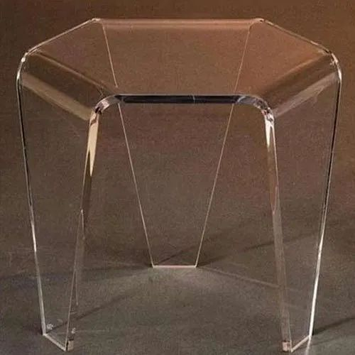 best loved 02ebe 567f1 Clear Acrylic Table