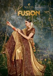 Kalista Fusion Fancy Saree