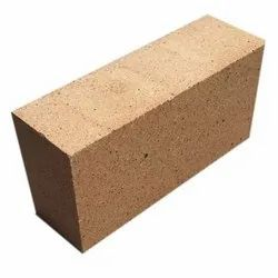 Rectangle Brown Rectangular Fire Bricks, for Side Walls, Size: 9x4.5x3 inch