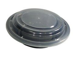 2000 ML Moulded Round Plastic Food Container