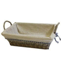Rectangular Bread Cane Basket