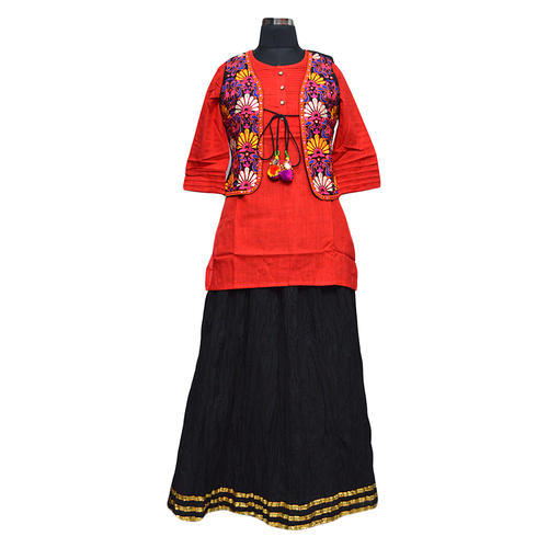 ff768541ba Short Kurti With Skirt, Size: S, M & L, Rs 300 /piece, Expressive ...