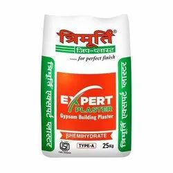 Trimurti Expert Gypsum Plaster, Packaging Type: Pp Bag, Packaging Size: 25 Kg