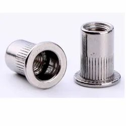 Flat Head Knurled Body Rivet Nut