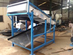 3 Hp Ms Steel Sections Sand Gravel Screening Machine, Capacity: 8 - 10 Tons Per Hour