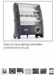 Metal 800watt Eveready Room Heater, 800w, India