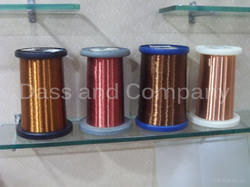 Solid 0.02 - 1 mm High Temperature Self Bonding Copper Wire For Voice Coil