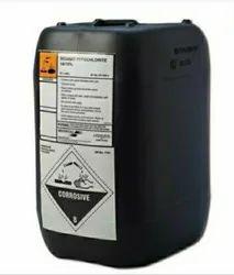 Sodium hypochloride  12 %  ( 40 kg can  )