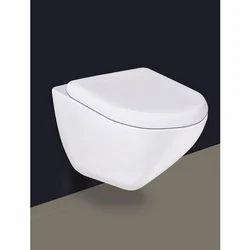 White Wall Hung Ceramic Urinal