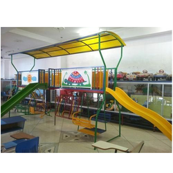 Play Station With 2 Slides, Swings, Climber