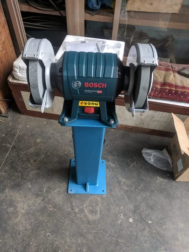 Bench Grinder Pedestal With Stand Warranty 1 Year For