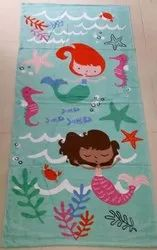 BAGMA Terry Printed Towels, Size: 30x60 Inches