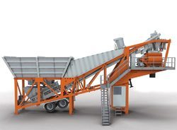 Auto-Mobile Concrete Batching Plant