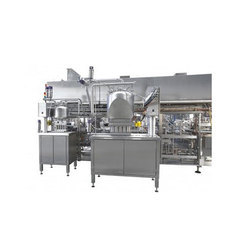 Linear Cup Filling Machine