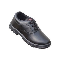 Black Kids Boys School Shoes