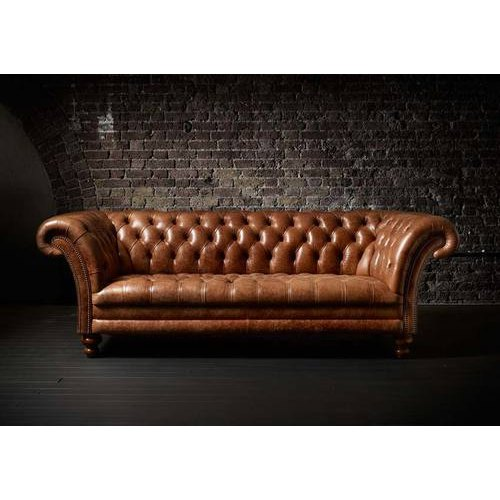 3 Seater Chesterfield Sofa Living Room