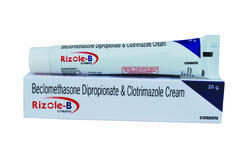 Clotrimazole and Beclomethasone Dipropionate  IP 2 % Cream