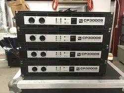 CP3000S 1600 W Per Channel Class H Power Amplifier