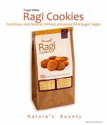 Grainny's organic wholegrain vegan finger-milletragi cookies