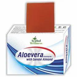 Aloe Vera Sandal Almond Soap (Anti-Inflammatory)