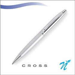 Calais Chrome/Matte Chrome Ball Point Pen