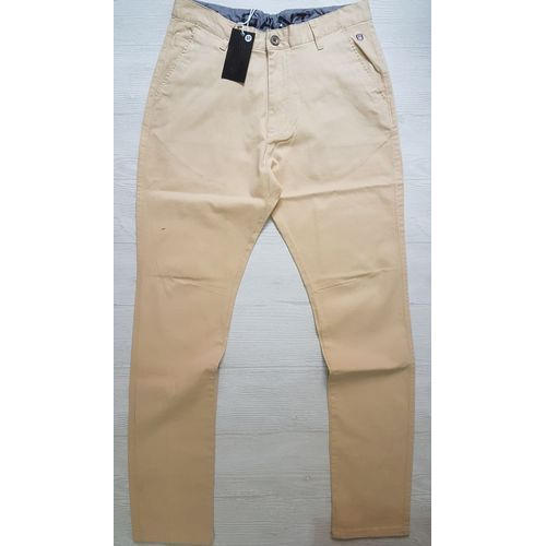 326c3f25bf46d Mens Cotton Cream Regular Fit Plain Pant, Size: 28 To 38, Rs 1485 ...