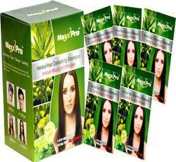 Herbal Max Pro Hair Shampoo, Packaging Type: Box, Packaging Size: 10 Pouch In 1 Box