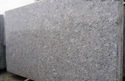 Polished Slab Pearl White Granite, For Flooring, Thickness: 15-20 mm