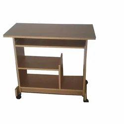 Bavarian Beech Wood Small Computer Table
