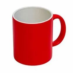 White & Red Giftec Creations Coffee Mug for Gifting Purpose