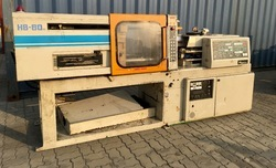 Injection Moulding Machine (Hishiya 80 Ton)