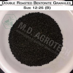 Agriculture Double Roasted Bentonite Granules