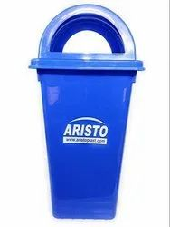 ARISTO Plastic Square Dome,Garbage Waste Dustbin 110 LTR