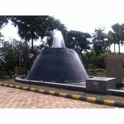 Round Architectural Fountain