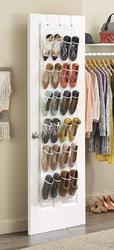 24 Pcs Door Hanging Shoes Organizer (325)