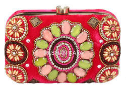 Ladies Embroidery Clutch Purse and Bags
