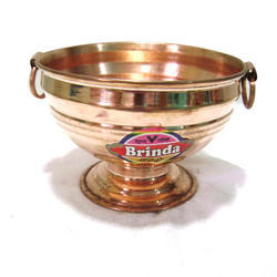 Decorative Copper Gangal Pot