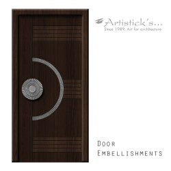 Brass Contemporary Doors