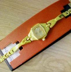 HMT Women Golden Wedding Watch in Small Dial