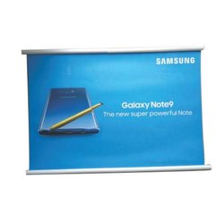 Rectangle Promotional Roll Up Banner for Advertising