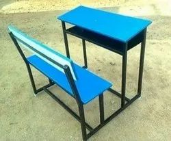 Dual Desk School Bench