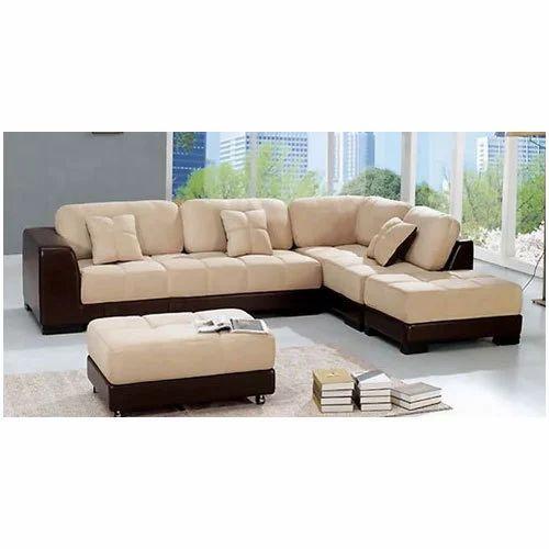 Different Types Of Sofa Sets: Pinewood L Type Designer Sofa Set, Rs 51000 /set, M M