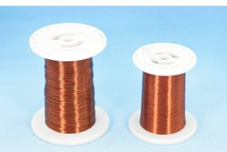 10-20 Mm Silver Polyesterimide Enameled Aluminum Wire, Size: Insulated