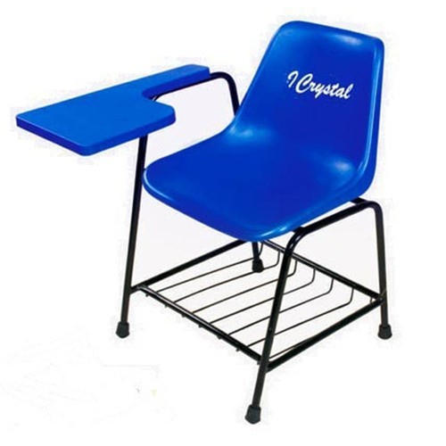 Blue Chair To Blue Pvc Student Writing Pad Chair Chair Rs 350 piece Crystal Group