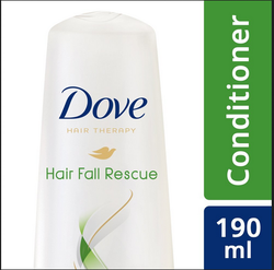 Dove hair fall rescue conditioner 190m, Pack Size: 190m