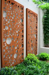 Corten steel decorative walls