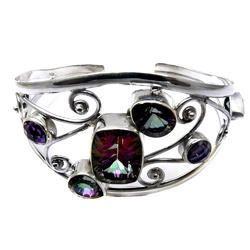 Perfect Fashion Design 925 Sterling Silver Bangle