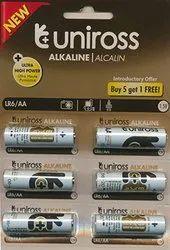 Uniross AA Alkaline Batteries