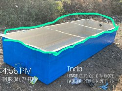 Frp Fish Farm Tanks