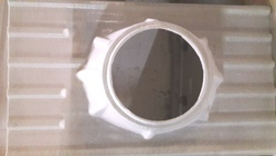 Transparent FRP Base plate, Material Grade: General, Size: 1800mm